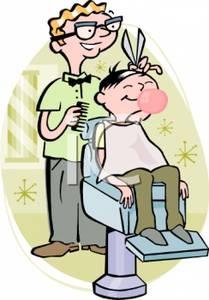 Naturally Move Head When Getting Haircut